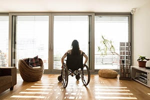 disabled accommodation